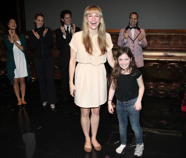 Broadway Debuts: Emilee Dupre & Rachel Resheff attending the Broadway Opening Night Gypsy Robe Ceremony celebrating Recipient Shannon Lewis for 'The People In The Picture' in New York City. at THE PEOPLE IN THE PICTURE Gypsy Robe Ceremony