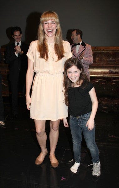 Broadway Debuts: Emilee Dupre & Rachel Resheff attending the Broadway Opening Night Gypsy Robe Ceremony celebrating Recipient Shannon Lewis for 'The People In The Picture' in New York City.