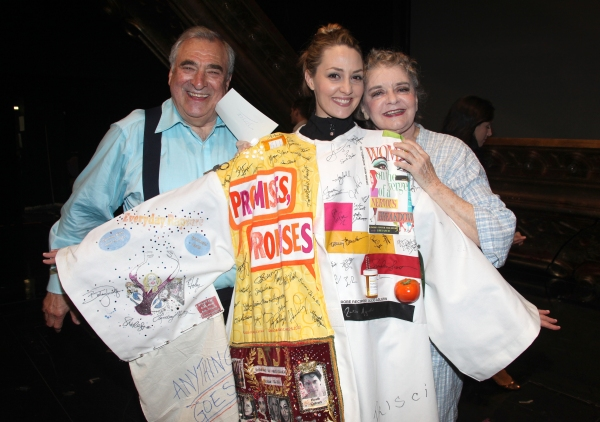 Hal Robinson & Shannon Lewis & Joyce Van Patten attending the Broadway Opening Night  Photo