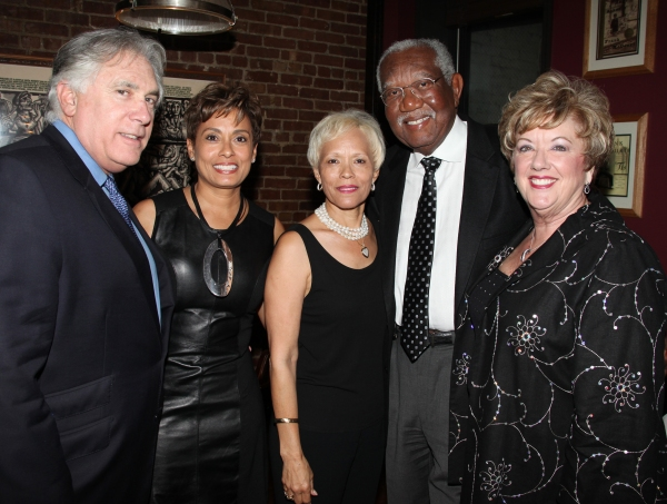 Guests (L-R) Alvin and Yolanda Brown, Brenda and Bill Galloway with Michele Dedeaux E Photo