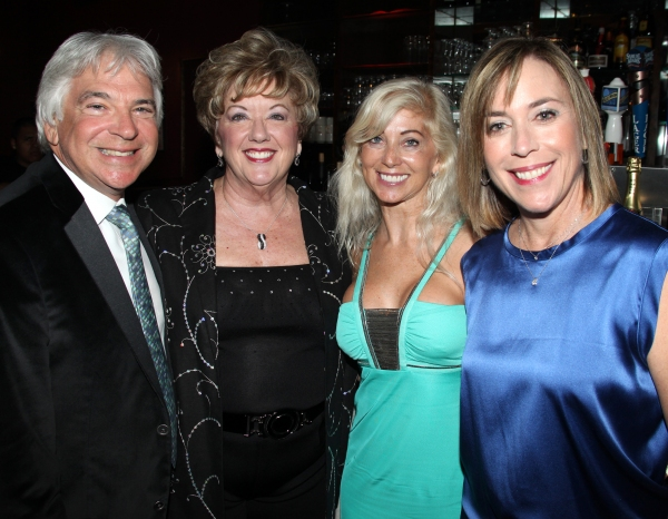 Agent Elliot Stahler, Michele Dedeaux Engemann, Danielle Stahler & Patti Eisenberg attending the Pasadena Playhouse Pre-Broadway Opening Night Reception for 'Baby It's You!' at Angus Restaurant in New York City.
