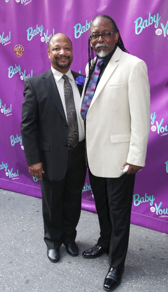 Sheldon Epps (Artistic Director of the Pasadena Playhouse and (co-Director of 'Baby it's You!' ) and Rahnn Coleman (Musical Supervisor and Arranger) attending the Broadway Opening Night Performance of 'Baby It's You!' in New York City.