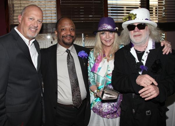 Stephen Eich, Sheldon Epps, Birgitte Mutrux & Floyd Mutrux attending the Pasadena Pla Photo