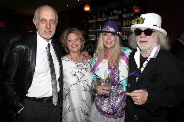 Co-Bookwriter Colin Escott & wife with Brigitte Mutrux & Floyd Mutrux attending the P Photo