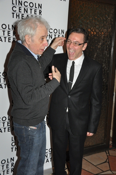 Austin Pendleton and Michael Halberstam at A Minister's Wife