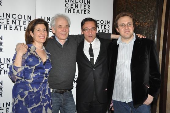 Jan Levy Traner, Austin Pendleton, Michael Halberstam and Joshua Schmidt Photo