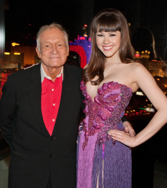 Hugh Hefner and Claire Sinclair