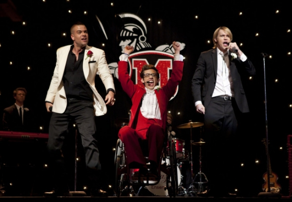 Mark Salling, Kevin McHale, Chord Overstreet