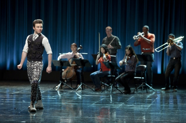 Photo Flash: First Look at GLEE's 'Funeral'