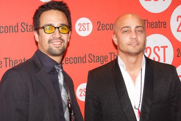 Lin-Miranda Manuel and Seth Stewart