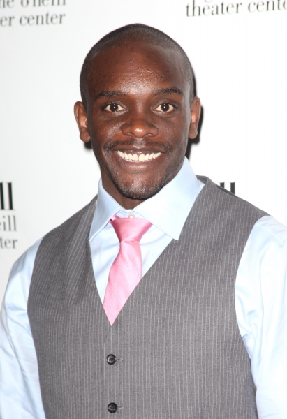 Chris Chalk attending The Eugene O'Neill Theater Center's 11th Annual Monte Cristo Award honoring James Earl Jones at Bridgewayers in New York City.
