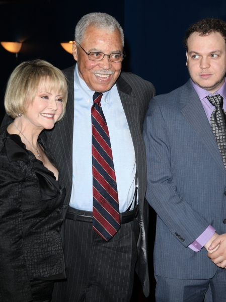 Cecilia Hart & James Earl Jones & Flynn Jones attending The Eugene O'Neill Theater Center's 11th Annual Monte Cristo Award honoring James Earl Jones at Bridgewayers in New York City.