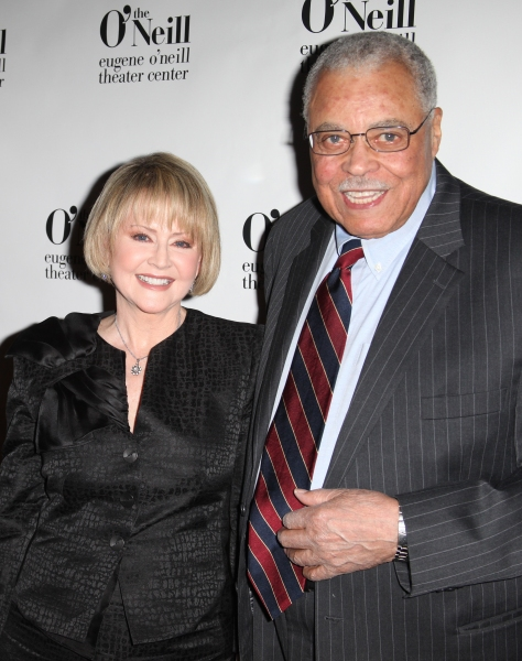 Cecilia Hart & James Earl Jones attending The Eugene O'Neill Theater Center's 11th Annual Monte Cristo Award honoring James Earl Jones at Bridgewayers in New York City.