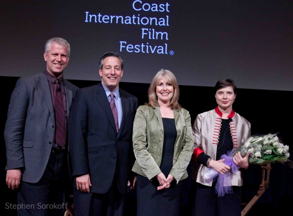 David Schwartz, Jon Kaiman, Regina Gil, Isabella Rossellini at ISABELLA ROSSELLINI at The Gold Coast International Film Festival