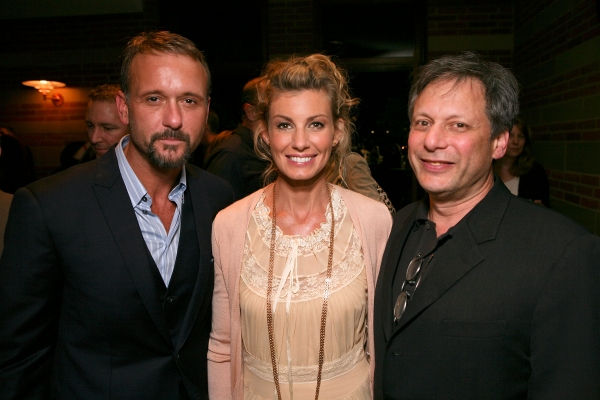 Cast members Tim McGraw, Fatih Hill and Director Ben Donenberg
