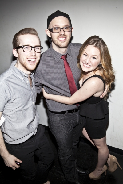 Kevin Shotwell, Ryan Scott Oliver and Maggie Anderson