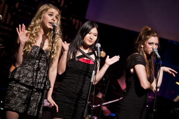 Catherine Blades, Yurina Kutsukake and Amanda Braun