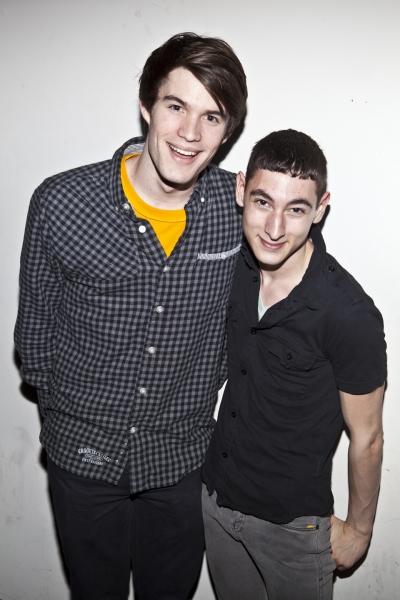Brandon Kalm and David Gomez Photo