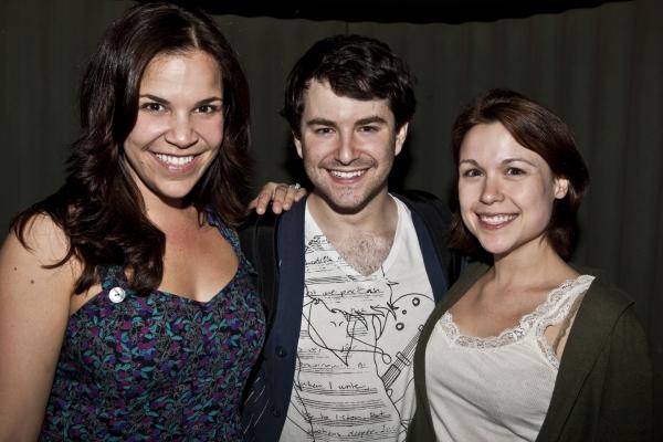 Lindsay Mendez, Alex Brightman and Lindsey Kyler