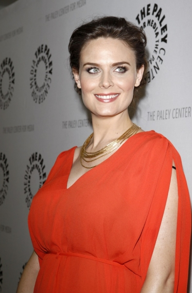 Emily Deschanel at Paley Center Hosts an Evening with Fox's BONES in LA