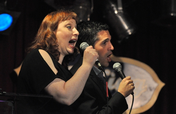 Lorinda Lisitza and Ben Cherry