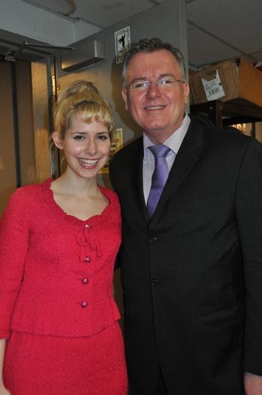 Nellie McKay and Bobby Peaco Photo