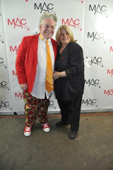 Ricky Ritzel and Penny Landau