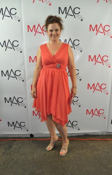 Major Artist-Julie Reyburn at 2011 MAC Awards - Backstage!