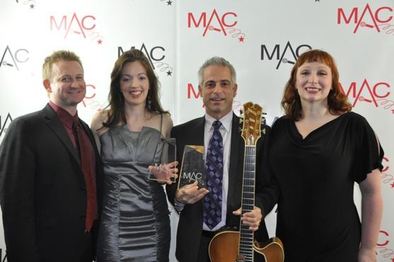 Johnny Rodgers, Liz Lark Brown, Sean Harkness and Lorinda Lisitza Photo