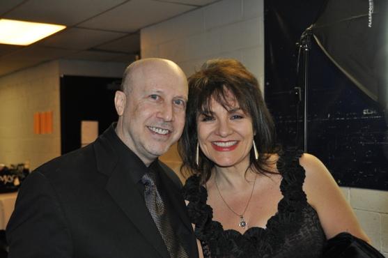 Lina Koutrakos and Alex Rybeck
