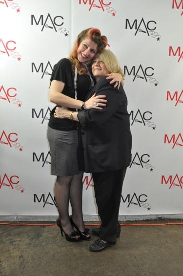 Suzanne Peebles and Penny Landau Photo