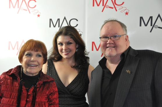Annie Ross, Jane Monheit and Lennie WattsMa at 2011 MAC Awards - Backstage!