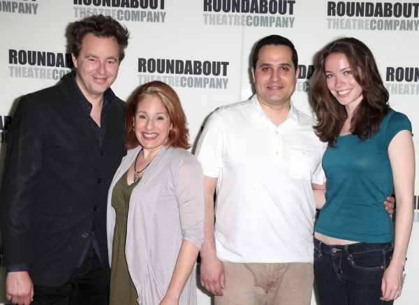 Don Stephenson, Joy Hermalyn, Jay Jaski & Patricia Noonan attending the Meet & Greet for The Roundabout Theatre Company's off Broadway Production of 'Death Takes A Holiday' in New York City. at DEATH TAKES A HOLIDAY Cast Meets the Press!