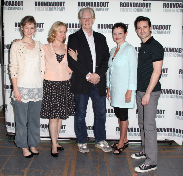 Photo Coverage: DEATH TAKES A HOLIDAY Cast Meets the Press!