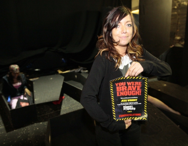 Photo Coverage: GHOST STORIES Challenge Fans To Spend A Night In A Coffin!