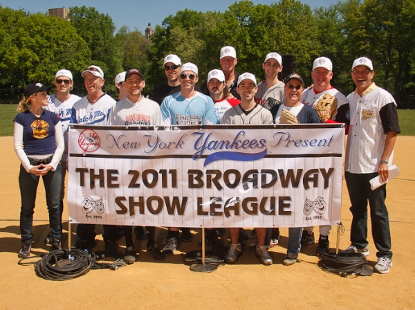 The 2011 Broadway Show League at Hecksher Ballfield