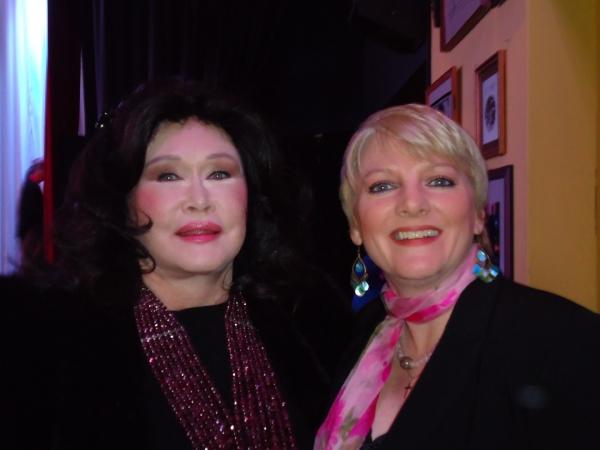 Barbara Van Orden & Alison Arngrim at Benefit V-Day Readings Held at The CAP Theatre