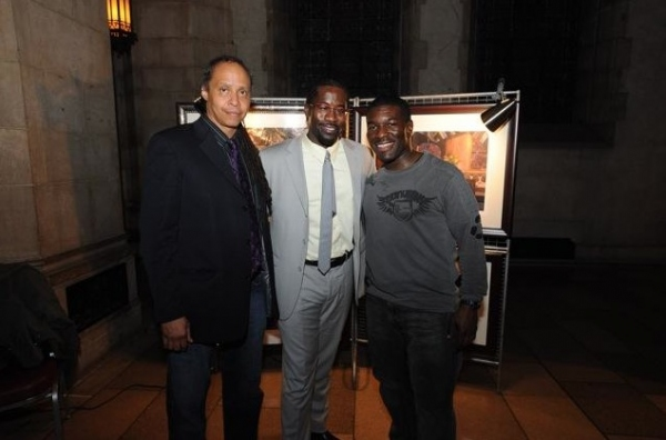 Co-Composer Jamal Joseph, Daniel Beaty, and Co-Composer Charles Mack