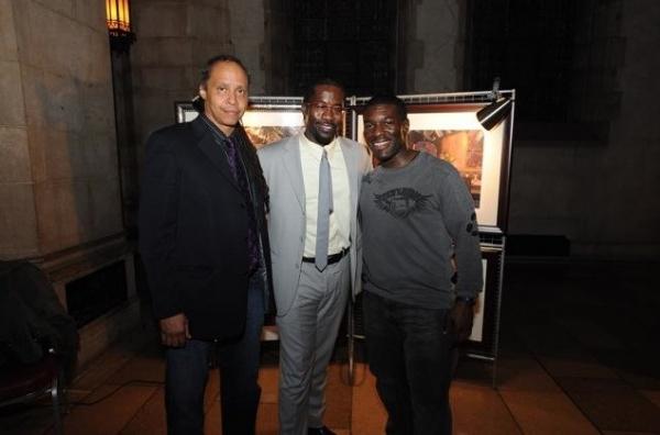 Co-Composer Jamal Joseph, Daniel Beaty, and Co-Composer Charles Mack Photo