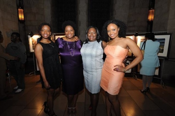 Ladies from the cast Umi Shakti, Adrienne C. Moore, Dietrice Bolden, and Kelechi Ezie