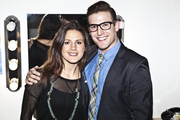 Carrie Manolakos and Morgan Karr