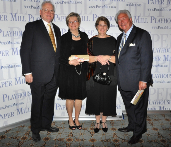 Charles A. Pascarella (Board of Trustees), Maryann Pascarella, Raymond Babinski and Judith Babinski