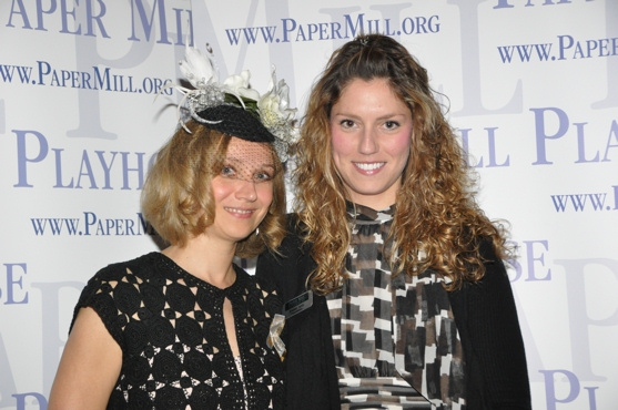 Olga Dobrolieubova and Esme Artz (Press Assistant Paper Mill Playhouse)
