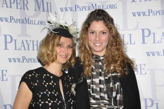 Olga Dobrolieubova and Esme Artz (Press Assistant Paper Mill Playhouse)