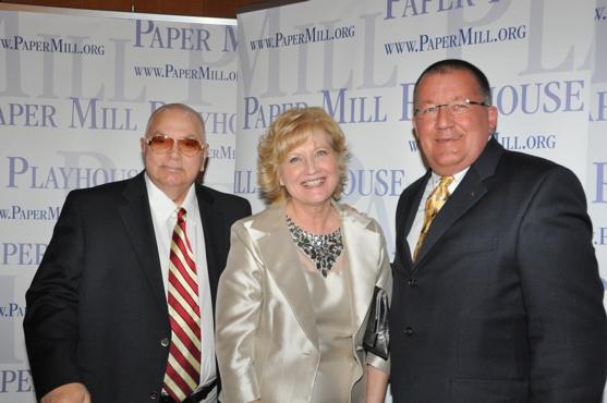 Tom Matt and Carl Knerem with Jane E. Higgens (Co-Chair) Photo