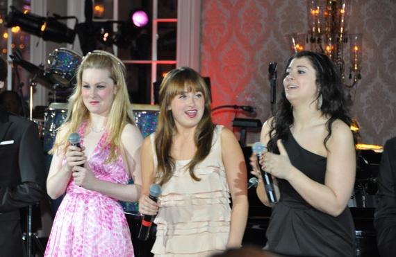 Jordan Barrow, Melody Madarasz and Krista Pioppi Photo