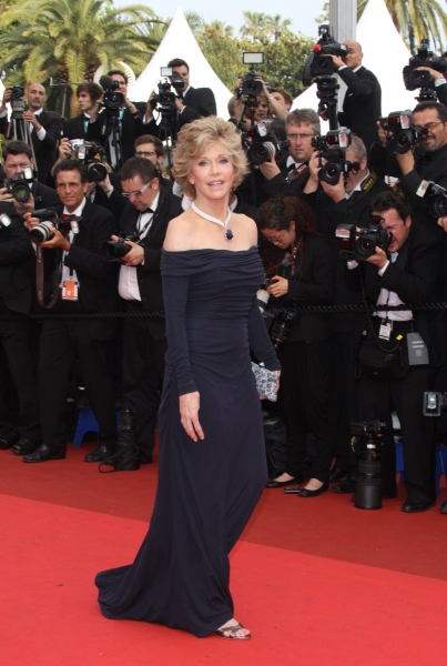 Jane Fonda  at 'Pirates of the Caribbean: On Stranger Tides' Premieres at Cannes