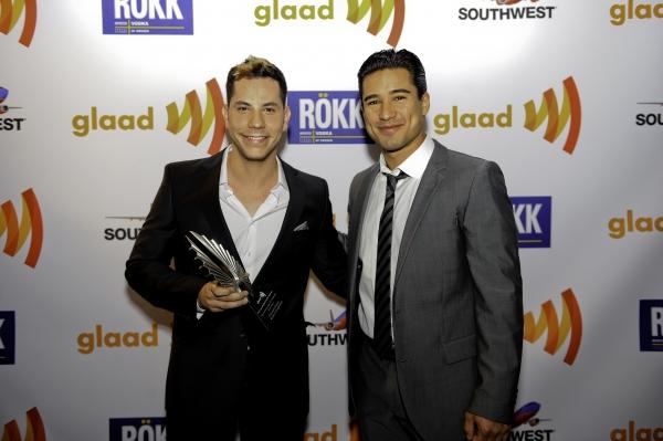 Photo Flash: Mario Lopez, Naya Rivera, Kim Cattrall, et al. at  GLAAD Awards