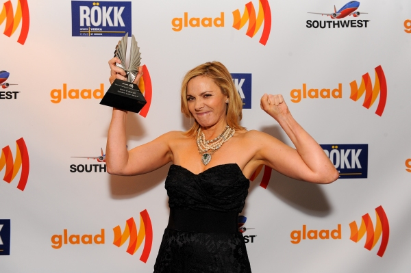 Photo Flash: Mario Lopez, Naya Rivera, Kim Cattrall, et al. at  GLAAD Awards