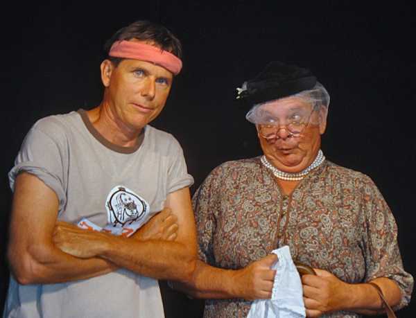 Tom Althouse and Jonathan Lehman at Greater Tuna Opens at the ProArts Playhouse in Kihei